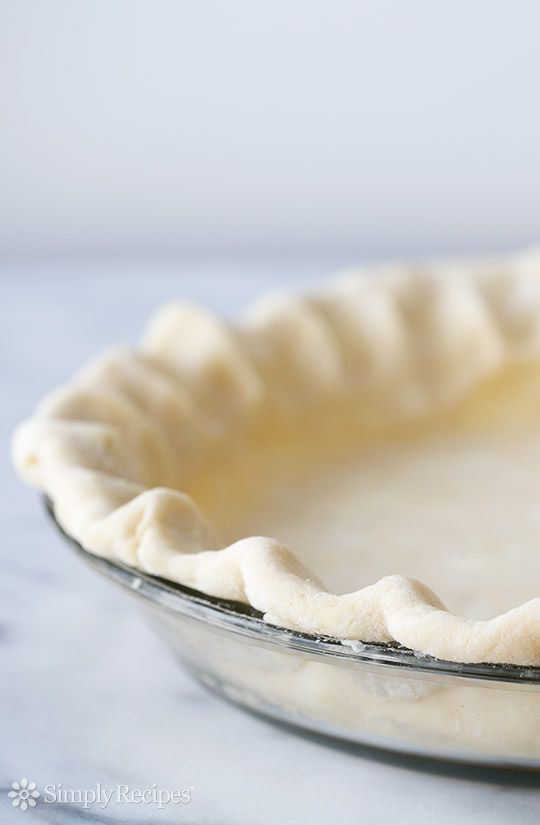 All Butter Pie Crust For Pies And Tarts Pate Brisee Recipe