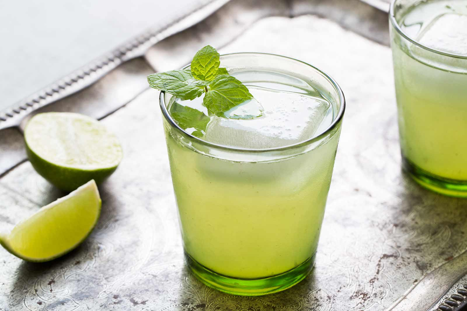 Limeade With Mint Recipe