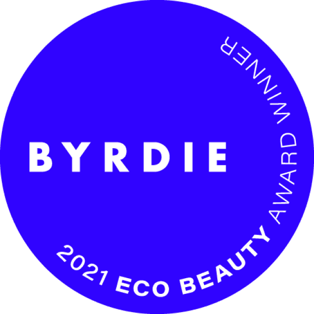 Byrdie Eco Award Badge